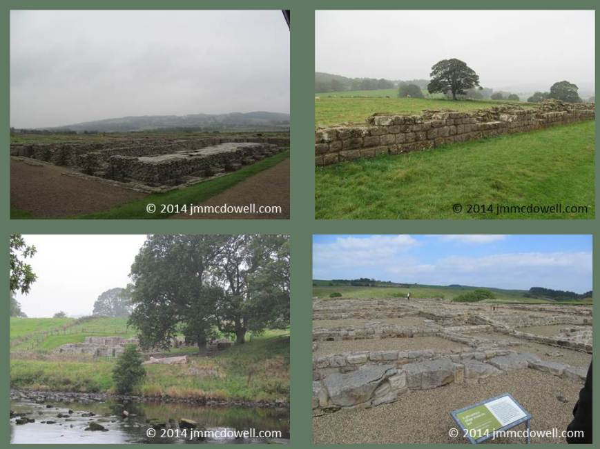 scenes from the Hadrian's Wall trail